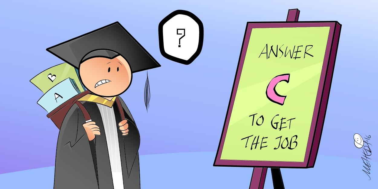 cartoon on education system