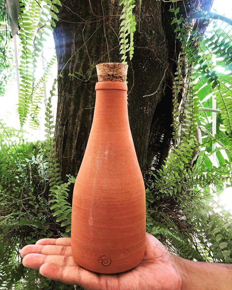 Claystation bottle