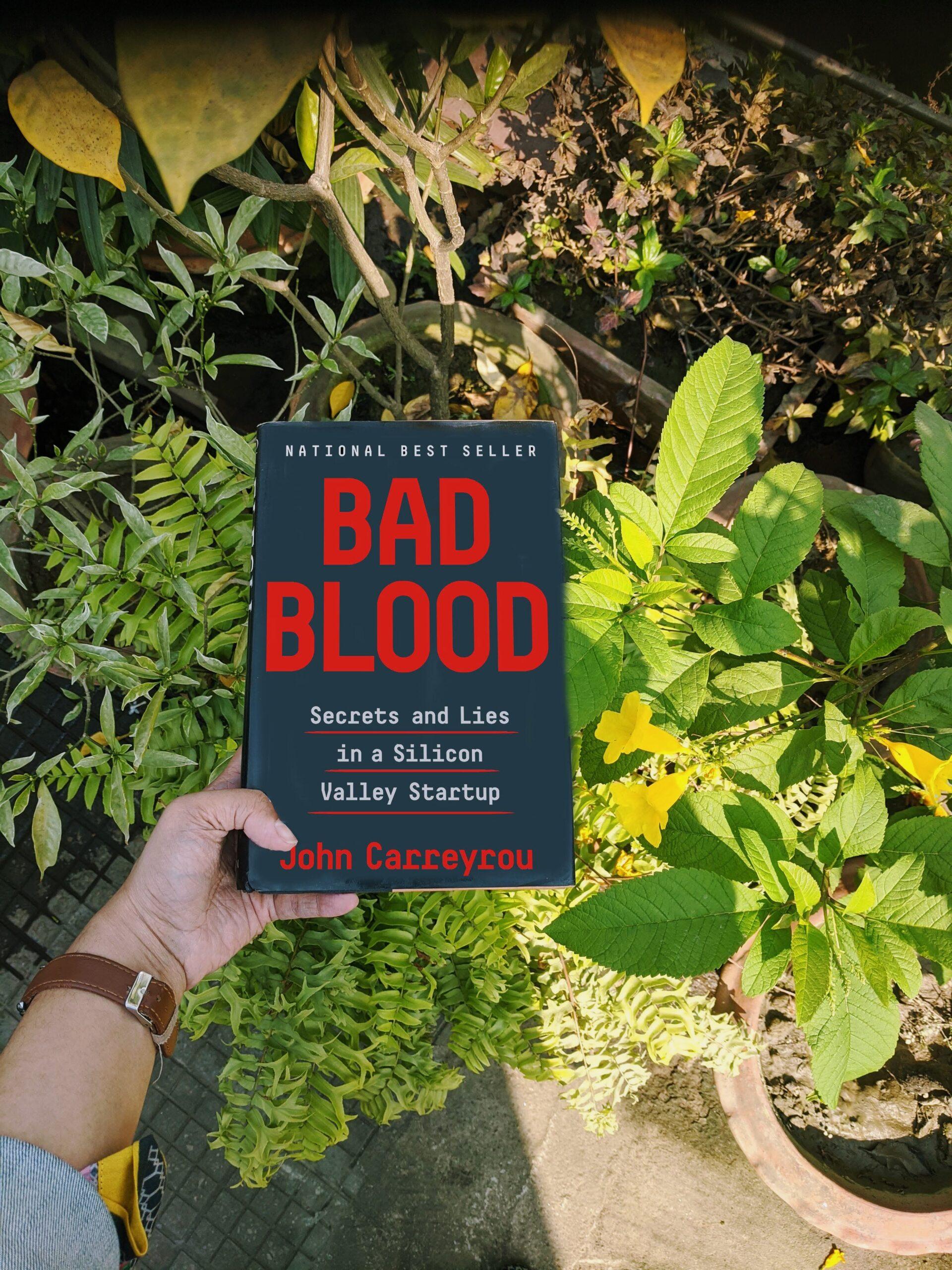 bad blood theranos elizabeth holmes